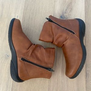 Hotter whisper boots dark Tan size 6.5